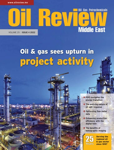 Oil Review Middle East magazine cover 2012