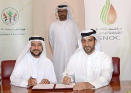 Sharjah National Oil Corporation and Sharjah Electricity and Water Authority sign gas agreement