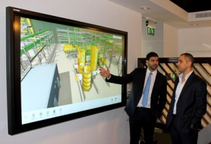 AVEVA Engage in use at the Centre of Excellence for Oil Gas in Dubai lowres