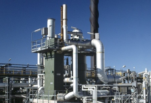 A WSA plant such as this treat tail gas from the Claus unit to achieve more than 99