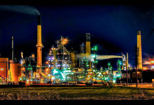 Jeff S. PhotoArt at HDCanvas.ca Flickr oil refinery