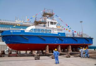 Grandweld launches first crew boat for KOC