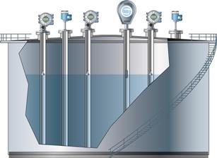 LNG tank instrumentation