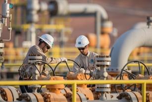Operators at a Saudi Aramco Facility 1