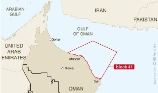 Total Oman block 41
