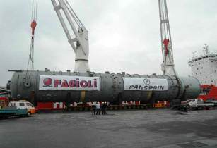 HANSA HEAVY LIFT delivers mobile cranes in Egypt