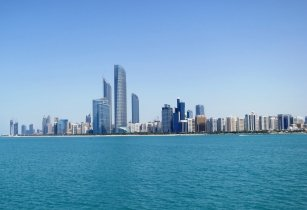Abu Dhabi Skyline from Marina